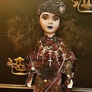 Other - Gypsy hand-painted doll
